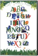 Safari Alphabet Fine-Art Print