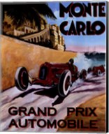Monte Carlo Grand Prix Fine-Art Print