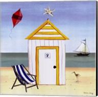 Beach House 2 Fine-Art Print