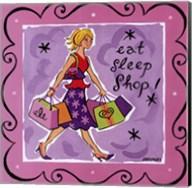 Girl Talk-Shopping Fine-Art Print