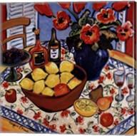 Lemon Bowl Fine-Art Print