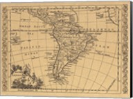 South America, 1802 Fine-Art Print