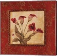 Callas In Red Fine-Art Print
