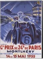 Grand Prix De Montlhery Fine-Art Print
