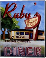 Ruby's Diner Fine-Art Print