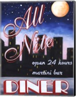 All Nite Diner Fine-Art Print