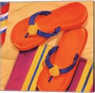Orange Flip Flops Fine-Art Print