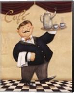 Waiter - Cafe Fine-Art Print