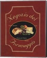 Negozio Del Formaggio - Mini Fine-Art Print