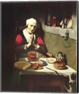 Old Woman Praying Fine-Art Print
