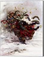 Windswept Santa Fine-Art Print