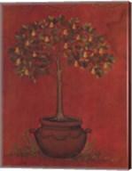 Topiary Fresco Pear Fine-Art Print