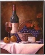 Wine & Grape I Fine-Art Print