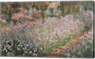 Artist's Garden At Giverny, 1900 Fine-Art Print