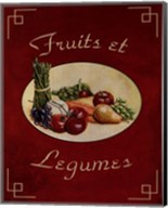 Fruits Et Legumes Fine-Art Print