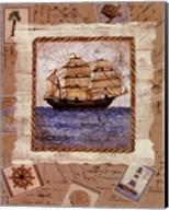 Ship To Shore I Fine-Art Print