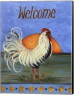 Welcome - Rooster Fine-Art Print