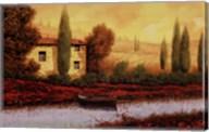Al Tramonto Sul Fiume Fine-Art Print