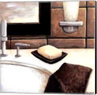 Modern Bath Elements I Fine-Art Print