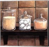 Modern Bath Elements II Fine-Art Print