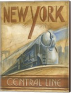 New York Central Line Fine-Art Print