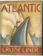 Atlantic Cruise Liner Fine-Art Print