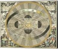 Celestial Hemispheres I Fine-Art Print