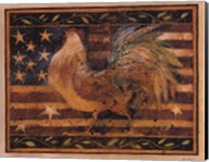 Old Glory Rooster Fine-Art Print