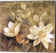 Gilded Waterlilies II Fine-Art Print