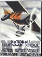 Nationale Luchtvaart School Fine-Art Print