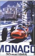 Grand Prix Monaco 30 Mai 1965 Fine-Art Print