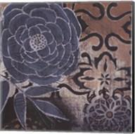 Denim Rose I Fine-Art Print