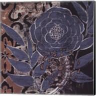 Denim Rose II Fine-Art Print