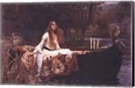 Lady of Shalott, c.1888 Fine-Art Print