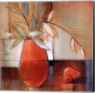 Afternoon Bamboo Leaves II Fine-Art Print