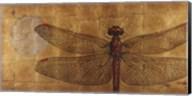 Dragonfly On Gold Fine-Art Print
