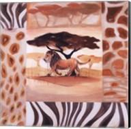 Animals of the Veld - Lion Fine-Art Print
