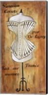 Modle De Corset II Fine-Art Print