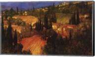 Hillside - Tuscany Fine-Art Print