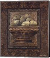 Rustic Bowl of Pears Fine-Art Print