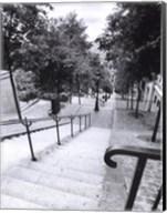 Escalier de Montmarte Fine-Art Print
