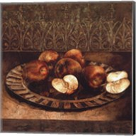 Apples on a Charger Fine-Art Print