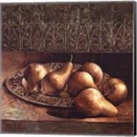 Pears on a Platter Fine-Art Print