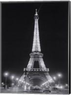 Eiffel Tower at Night Fine-Art Print