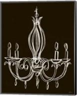 Elegant Chandelier IV Giclee