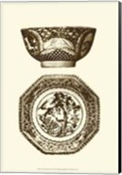 Manor Porcelain In Brown II Fine-Art Print
