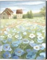 Blue Meadow Fine-Art Print