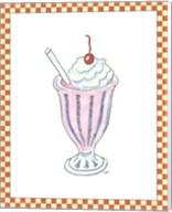 Ice Cream Parlor II Fine-Art Print