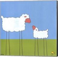 Stick-Leg Sheep I Fine-Art Print