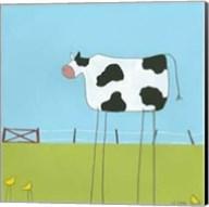 Stick-Leg Cow II Fine-Art Print